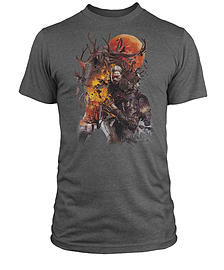 The Witcher T-Shirt: The Monster Slayer Medium Clothing