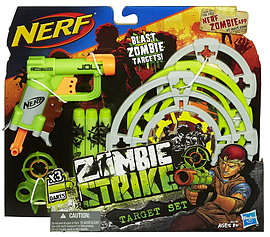 Nerf Zombie Targeting Set Figurines and Sets