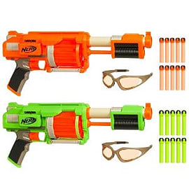 Nerf Dart Tag Fury Figurines and Sets