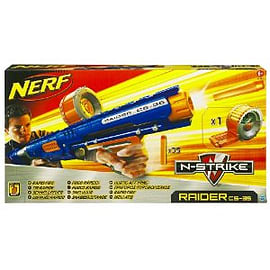 Nerf N-Strike Raider Rapid Fire CS-35 Dart Blaster Figurines and Sets