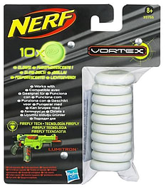 NERF - Vortex Glow In The Dark Ammo Pack Figurines and Sets