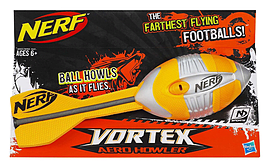NERF Vortex Mega Football Aero Howler - ORANGE Figurines and Sets