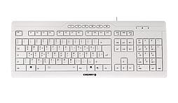 Cherry G85-23100 Evolution Stream Xt Corded Multimedia Usb/ps2 Keyboard (white) PC