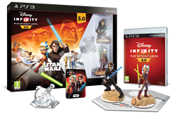 Disney Infinity 3.0 Star Wars Starter Pack PlayStation 3 Cover Art