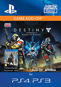Destiny Expansion II: House of Wolves PlayStation Network
