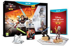 Disney Infinity 3.0 Star Wars Starter Pack Wii U Cover Art