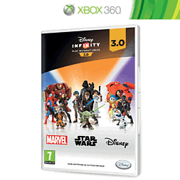 Disney Infinity 3.0 (Software Only) Xbox 360 Cover Art