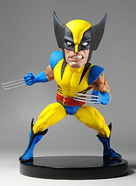 Neca Marvel Wolverine Headknocker Figurines and Sets