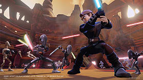Disney Infinity 3.0 Star Wars - Twilight of the Republic Play Set screen shot 11