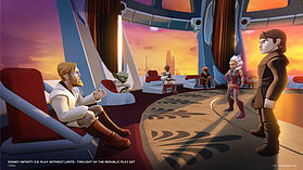 Disney Infinity 3.0 Star Wars - Twilight of the Republic Play Set screen shot 12