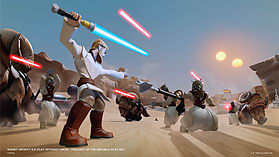 Disney Infinity 3.0 Star Wars - Twilight of the Republic Play Set screen shot 13