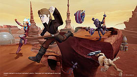Disney Infinity 3.0 Star Wars - Twilight of the Republic Play Set screen shot 2