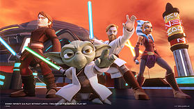 Disney Infinity 3.0 Star Wars - Twilight of the Republic Play Set screen shot 4