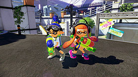 Black Wii U Premium with Splatoon screen shot 1