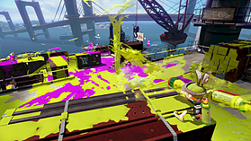 Black Wii U Premium with Splatoon screen shot 2