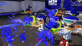 Black Wii U Premium with Splatoon screen shot 3