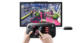 Black Wii U Premium with Splatoon screen shot 6