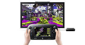 Black Wii U Premium with Splatoon screen shot 7