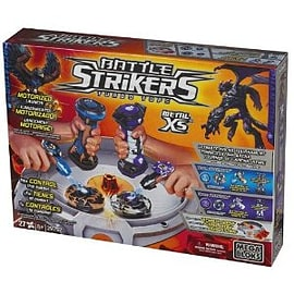 Mega Blocks Battle Strikers Metal XS Tournament Set Blocks and Bricks