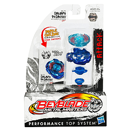 Beyblade Galaxy Pegasus II W105R2F Attack (BB-70) Figurines and Sets