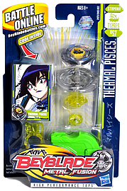 Beyblade Metal Fusion Thermal Pisces T125ES (BB57) Figurines and Sets