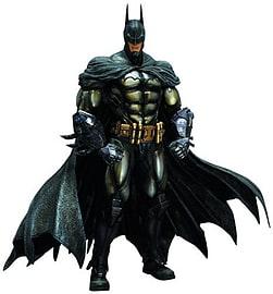 Batman Arkham Asylum Play Arts Kai Batman Armoured Figurines and Sets