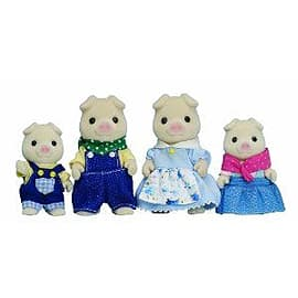 Sylvanian Families Pig Family Figurines and Sets