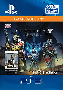 Destiny Expansion II: House of Wolves PS3
