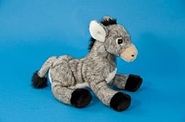 Dowman 25cm Grey Donkey Soft Toy Pre School Toys