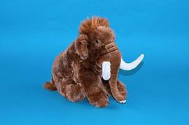 Dowman Wooly Mammoth 25cm Soft Toy Pre School Toys