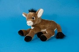 Dowman 25cm Brown Donkey Soft Toy Pre School Toys