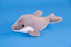 Dowman 23cm Dolphin Soft Toy Pre School Toys