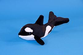 Dowman 24cm Killer Whale Soft Toy Pre School Toys