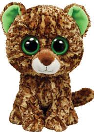 Ty Beanie Boos 15cm Speckles the Leopard Pre School Toys