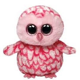 Ty Beanie Boo Pinky the Owl Pre School Toys