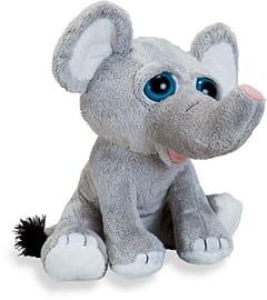 Petjes World Bright Eyes Elephant 20cm Pre School Toys
