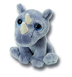 Petjes World Bright Eyes Rhino 20cm Pre School Toys