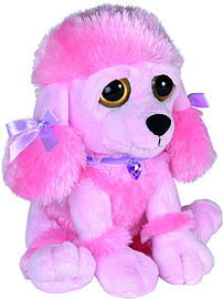 Petjes World Bright Eyes Pink Poodle 20cm Pre School Toys