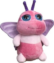 Petjes Bright Eyes Pink Butterfly 25cm Pre School Toys
