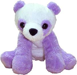 Petjes Girly Purple Panda Soft Toy 13cm Pre School Toys