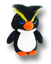 Petjes Bright Eyes Penguin Rockhopper Soft Toy Pre School Toys