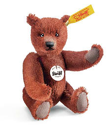 Steiff Mini Classic Teddy Bear Russet Pre School Toys
