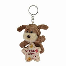 Lots of Woof Birthday Wishes Keyring Pre School Toys