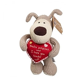 Boofle Standing With Heart Soft Toy Pre School Toys