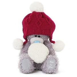Me to You Red Hat with Pompoms 7'' Tatty Teddy Pre School Toys