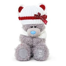 Me to You 7'' Tatty Teddy wearing Knitted Hat Pre School Toys