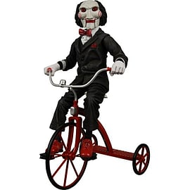 12 Inch SAW Billy Puppet with Tricycle Figurines and Sets