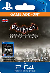 Batman Arkham Knight Season Pass PlayStation Network Cover Art