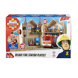 Fireman Sam Deluxe Fire Station Figurines and Sets