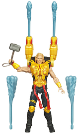 Thor the Mighty Avenger Deluxe 10cm Blaster Armor Action Figure Figurines and Sets